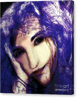 Morgaine Le Fay Canvas Print by RC deWinter