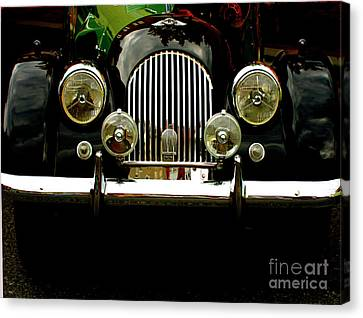 Classic Cars Canvas Print - Morgan In The Sixties  by Steven Digman