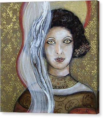 Morgan Le Fay's Enchantments Canvas Print by OvidiO Art
