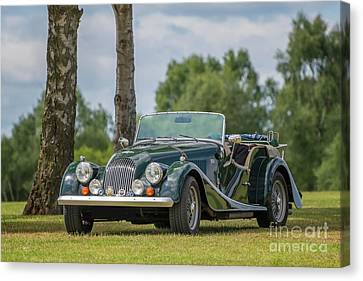 Canvas Print featuring the photograph Morgan Sports Car by Adrian Evans