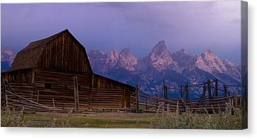 Canvas Print featuring the photograph Mormon Village by Peter Skiba