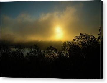 Canvas Print featuring the photograph Morning Arrives by Karol Livote