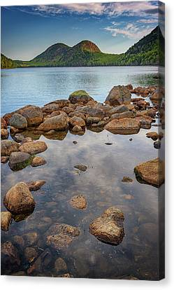 Morning At Jordan Pond Canvas Print by Rick Berk