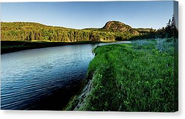 Morning At The Beehive Canvas Print by Brent L Ander
