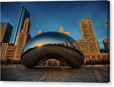 Morning Bean Canvas Print by Sebastian Musial