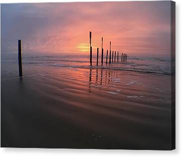 Canvas Print featuring the photograph Morning Bliss by Sharon Jones