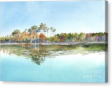 Morning Calm Canvas Print by Amy Kirkpatrick
