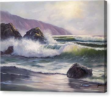 Morning Calm Canvas Print by Joni McPherson