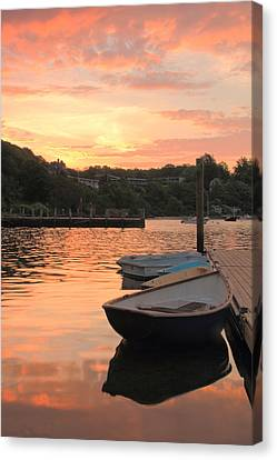 Morning Calm Canvas Print by Roupen  Baker