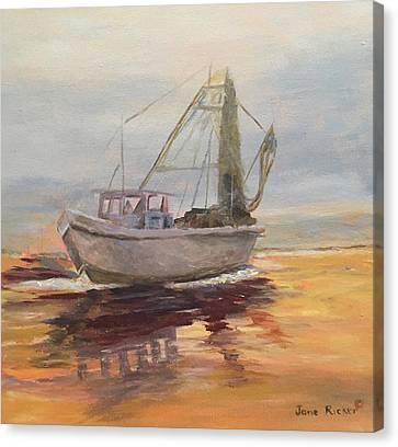 Morning Catch Canvas Print