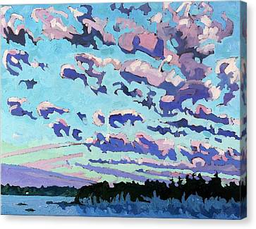 Morning Cumulus Fractus Canvas Print by Phil Chadwick