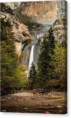 Yosemite Valley Canvas Print - Morning Delight by Az Jackson