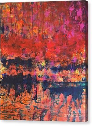 Morning Dew Canvas Print by Emmett Juliard