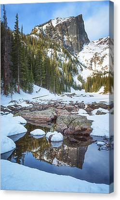 Winter Landscapes Canvas Print - Morning Dreams by Darren  White