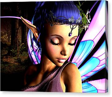 Morning Fairy  Canvas Print by Alexander Butler