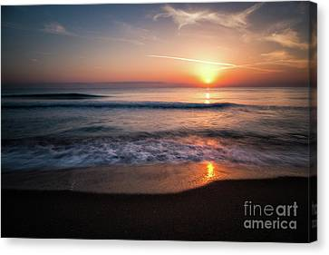 Morning Fire Canvas Print by Giuseppe Torre