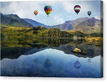Morning Flight Canvas Print by Ian Mitchell