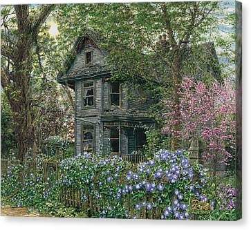 Morning Glory Canvas Print by Doug Kreuger