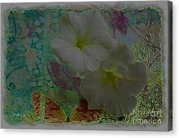 Morning Glory Fantasy Canvas Print by Donna Bentley