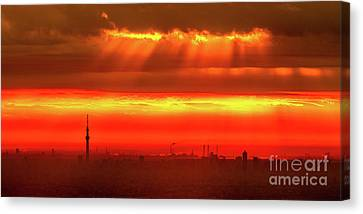 Morning Glow Canvas Print by Tatsuya Atarashi