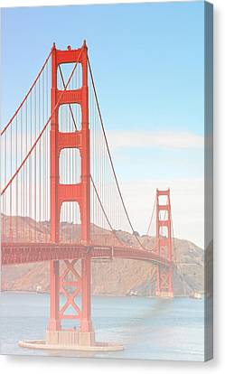 Morning Has Broken - Golden Gate Bridge San Francisco Canvas Print by Christine Till