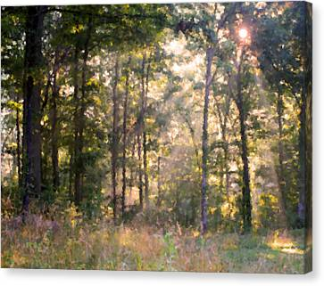 Morning Has Broken Canvas Print by Kristin Elmquist
