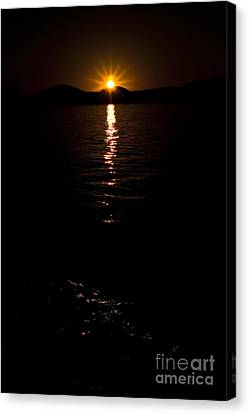 Canvas Print featuring the photograph Morning Has Broken by Tamyra Ayles