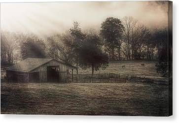 Morning In Boxley Valley Canvas Print