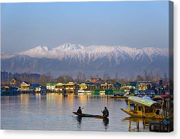 Morning In Kashmir Canvas Print by Ng Hock How