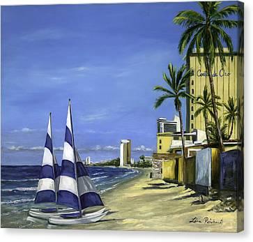 Morning In Mazatlan Canvas Print