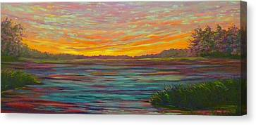 Southern Sunrise Canvas Print