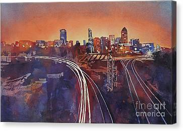 Morning In Raleigh Canvas Print by Ryan Fox