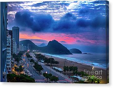 Morning In Rio Canvas Print