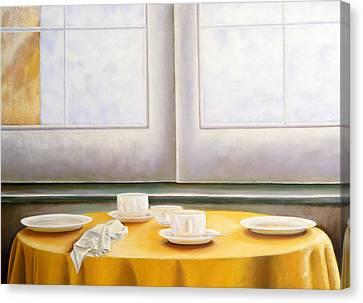 Morning In Sicily Canvas Print by Gloria Cigolini-DePietro