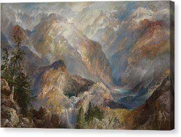 Morning In The Sierras Canvas Print