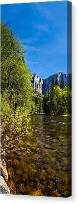 Morning Inspirations 1 Of 3 Canvas Print by Az Jackson