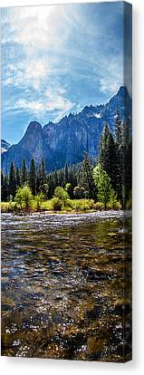 Morning Inspirations 3 Of 3 Canvas Print by Az Jackson