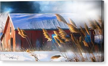 Morning Light Canvas Print by Bob Salo