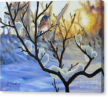 Morning Light Canvas Print by Joe Mandrick