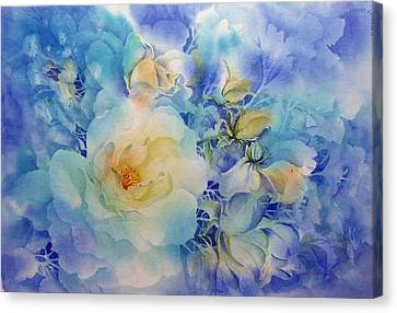 Morning-light Canvas Print by Nancy Newman