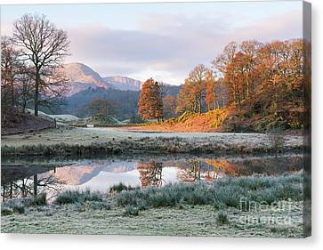 Morning Light Over The Brathay Canvas Print