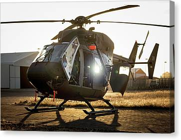 Canvas Print featuring the photograph Morning Light by Paul Job