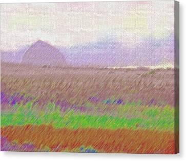 Morning Magic Canvas Print by Walter Fahmy