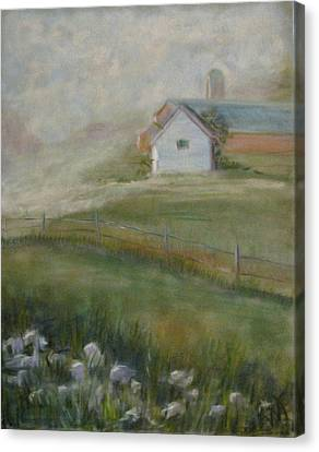 Morning Mercy Canvas Print by Wendie Thompson