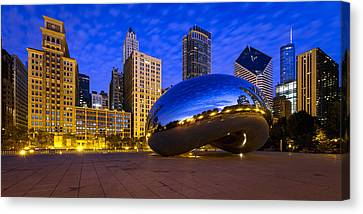 Morning Metropolis Canvas Print