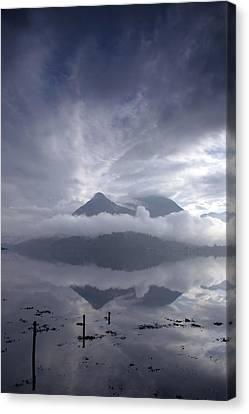 Morning Mist Glencoe Canvas Print