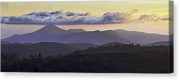 Morning On The Blue Ridge Parkway Canvas Print by Rob Travis