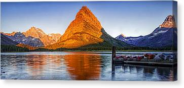 Morning Panorama Canvas Print by Andrew Soundarajan
