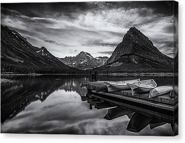 Morning Peace Canvas Print by Andrew Soundarajan