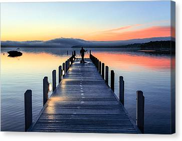 Resource Canvas Print - Morning Pier by Todd Klassy